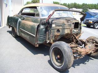 1950 Cadillac Series 62 Coupe