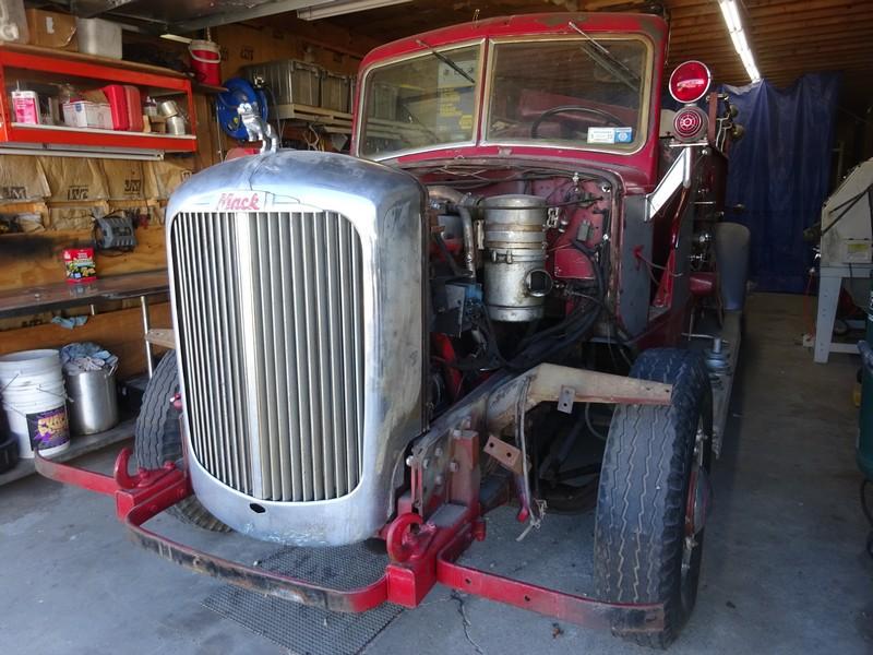 1941 Mack Fire Truck